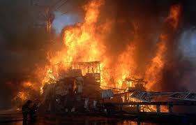 Fire at aishbagh