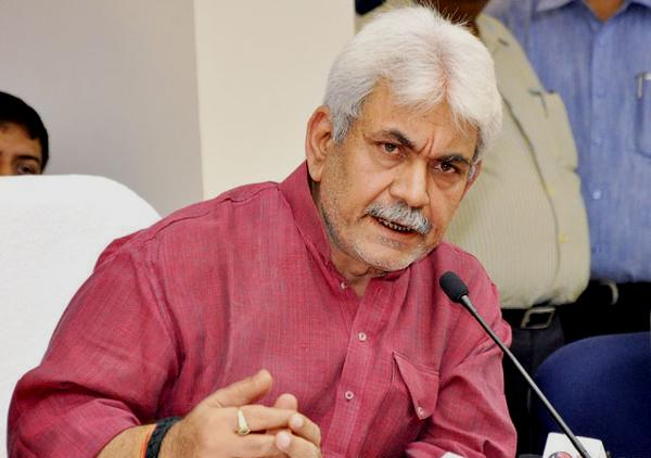 Union Railway Minister Manoj Sinha