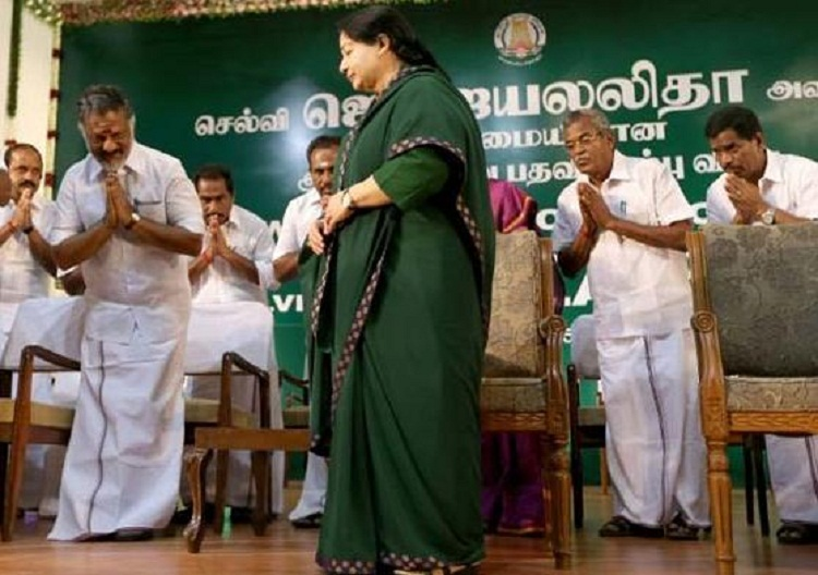 jayalalitha oath taking ceremony
