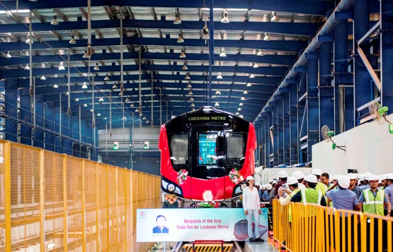 lucknow metro first look