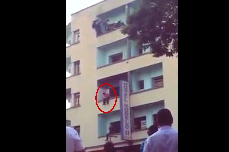 Men try to commit suicide