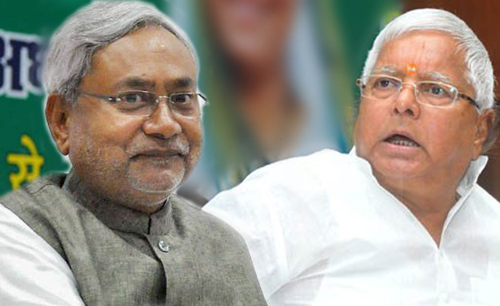 nitish kumar said on alliance