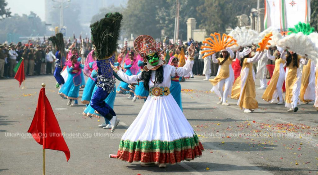 exclusive images republic day celebration in lucknow