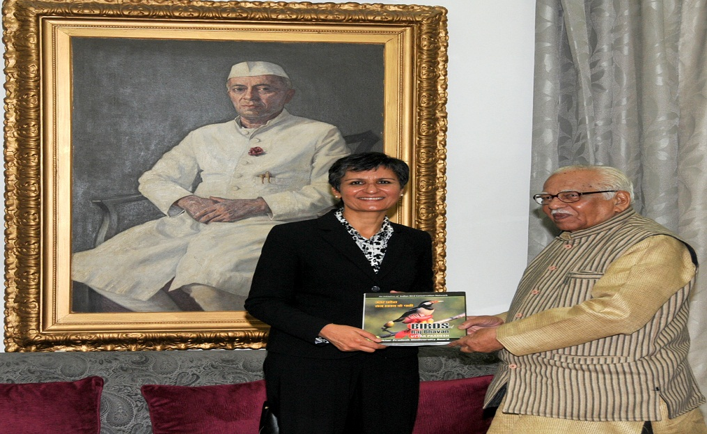 Australia's High Commissioner Harinder Sidhu and up governor ram naik