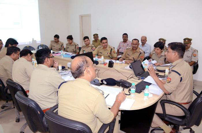 Ig zone lucknow crime meeting