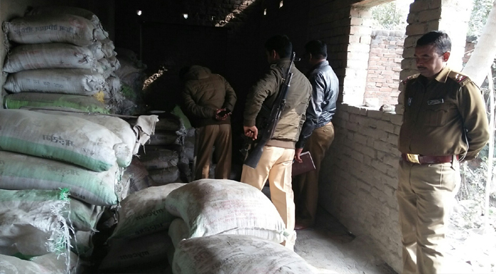 fake cement recovered