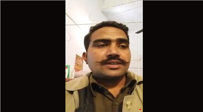 up police constable sarvesh chaudhary