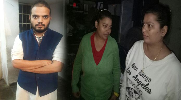 lucknow crime branch arrested with fake currency
