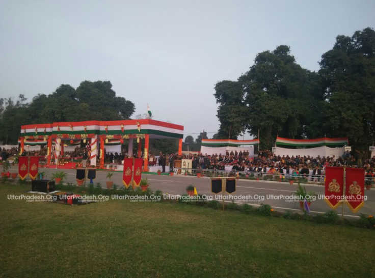 beating the retreat ceremony lucknow