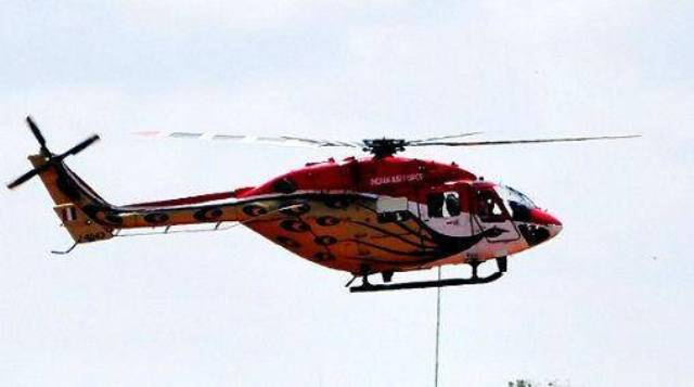 magh mela helicopter service