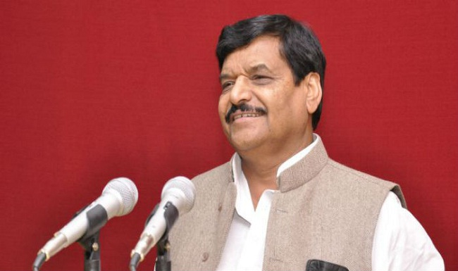 shivpal singh reaches new party office