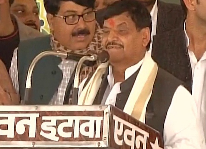 shivpal singh addressed public meeting