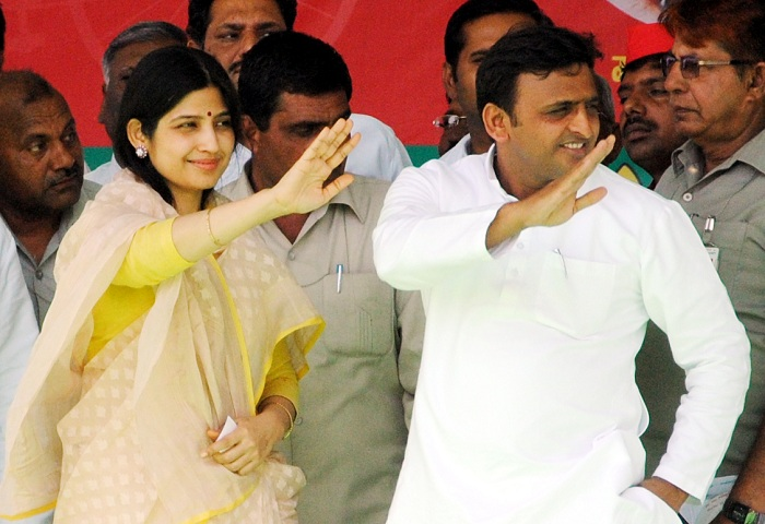 Dimple Yadav Election Campaign