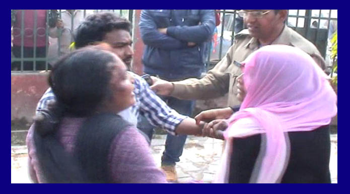 wife beats to husband and her lover in meerut