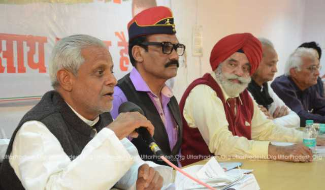 rajendra chaudhary compared rss