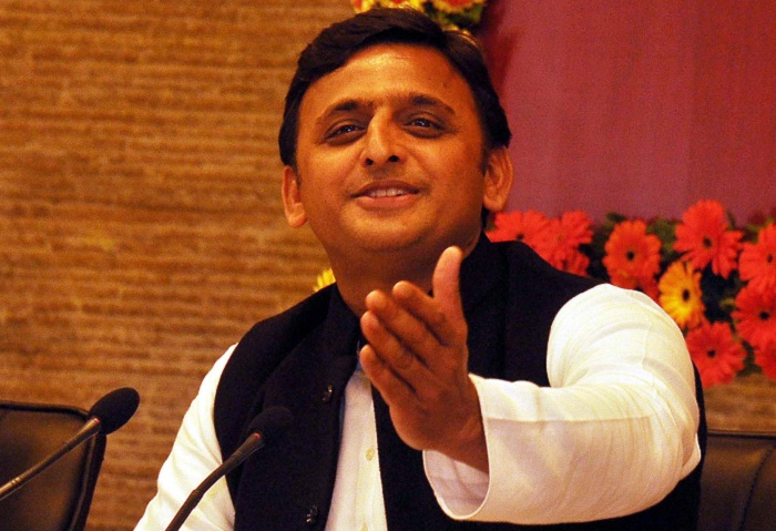 akhilesh yadav addressed press conference
