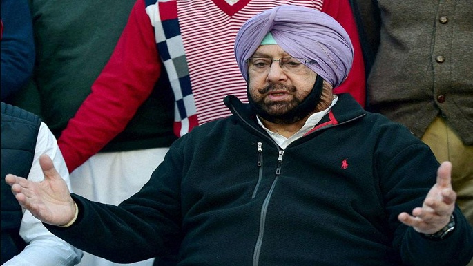 amrinder singh cuts own security