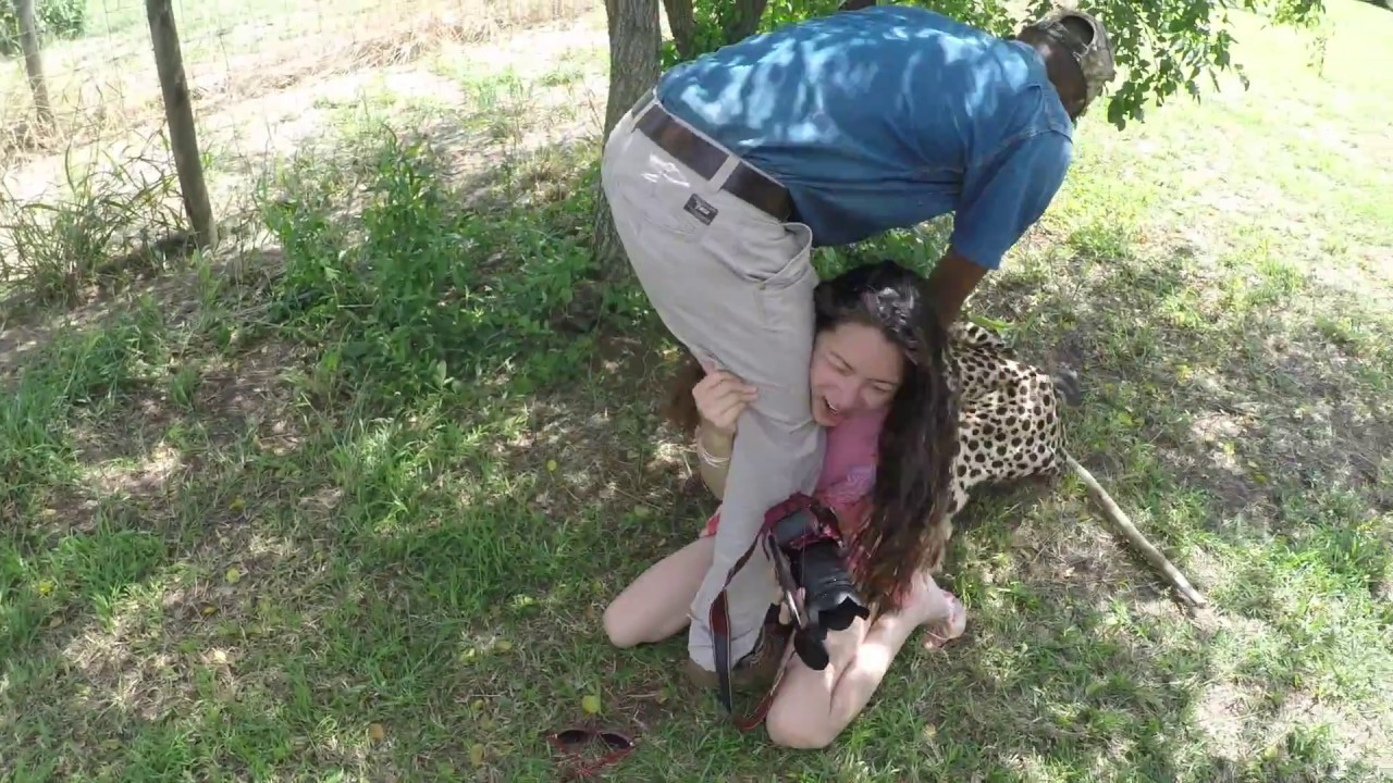 Cheetah Attacked On Girl