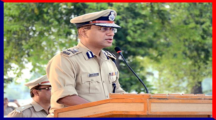 ig zone lucknow reserve police line visit