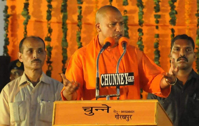 first cabinet meeting yogi government