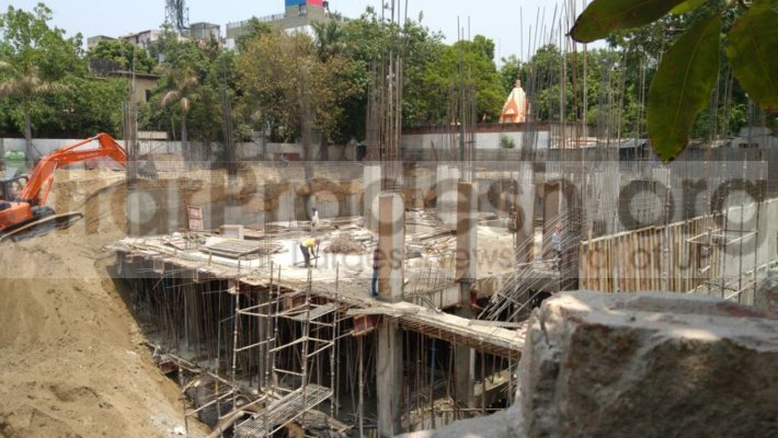 Illegal construction in hazratganj lucknow