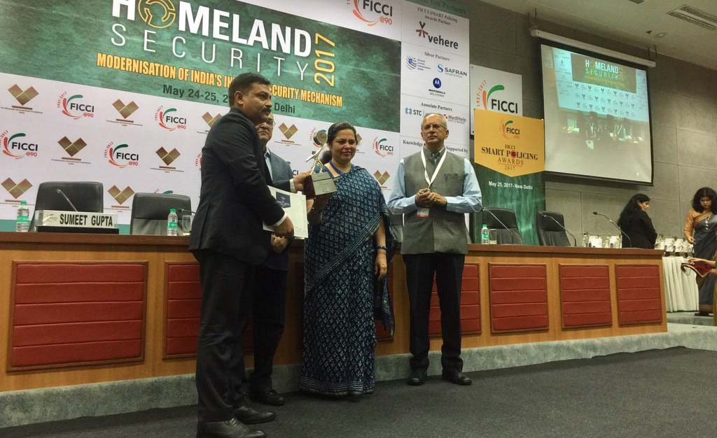 FICCI SMART POLICING special jury award 2017