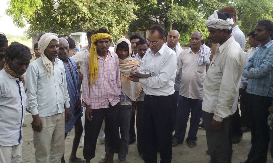 hunger death in bhadohi