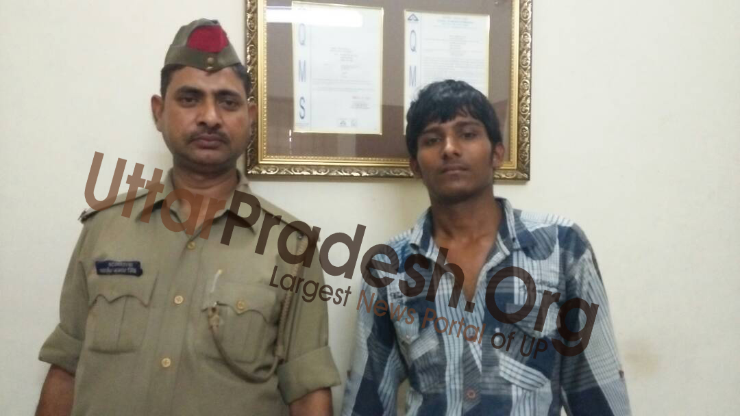 accused arrested at charbagh railway station