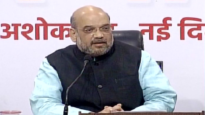 amit shah press conference
