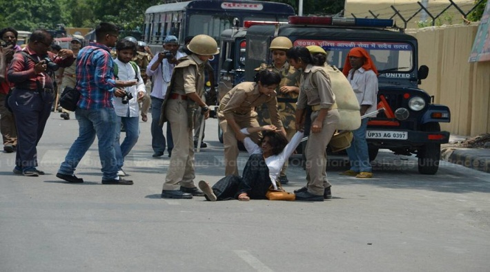 saharanpur violence fierce protest against yogi government