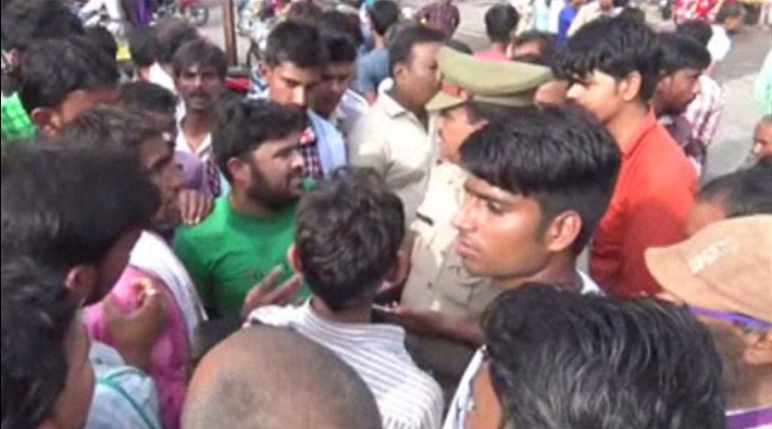 parole not found for cremation family did road jam in aligarh