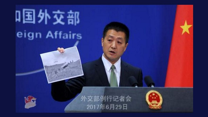 china fm releases pictures
