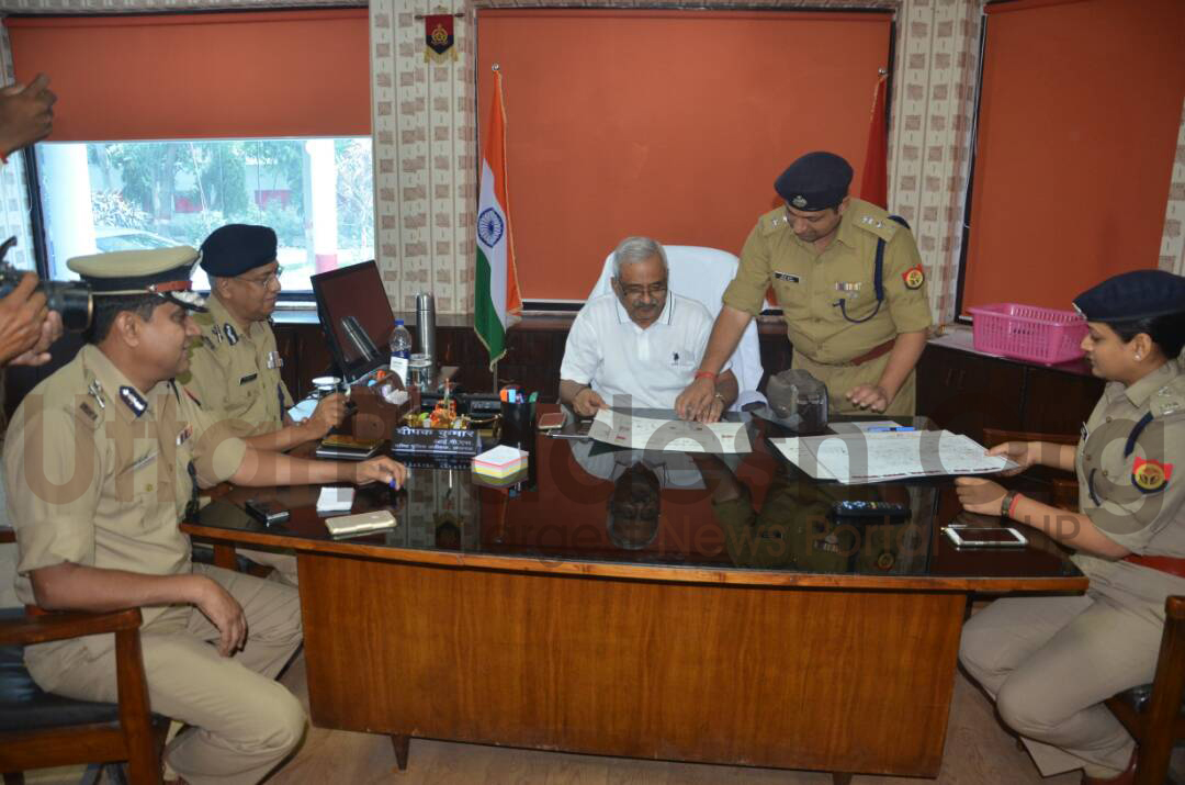 dgp in police office lucknow
