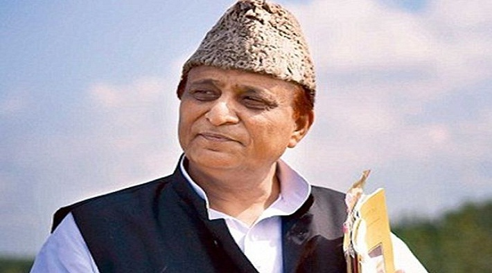 muslim community protested against azam khan controversial statements rampur