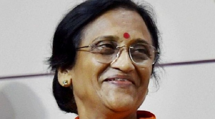 rita bahuguna joshi cabinet minister up inspection shelter holmes in allahabad