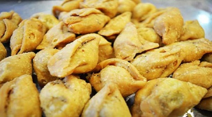 one gram flour can make 100 samosa in mirzapur up