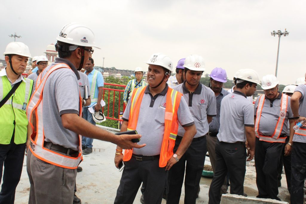 6th Metro Set arrives in Lucknow