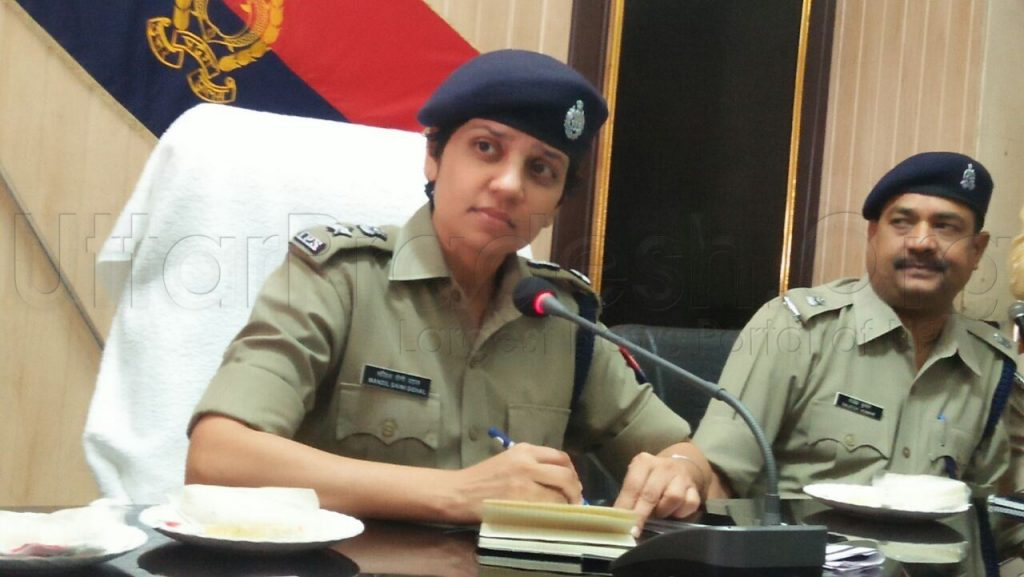 video ips manzil saini takes charge as new ssp meerut