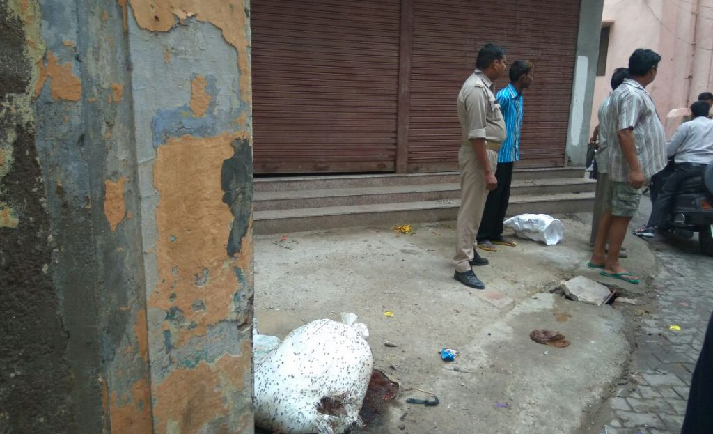 meat pieces found in meerut