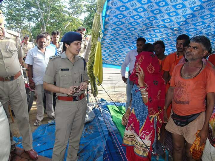 ssp manzil saini inspection safety of kanwar yatra in meerut