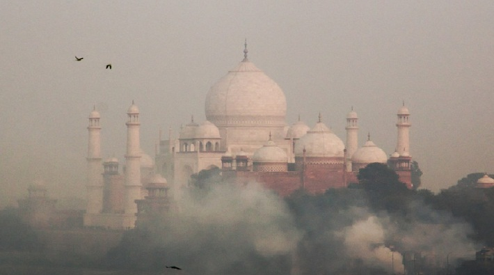 agra got 7th position in india top 10 cities In case of pollution