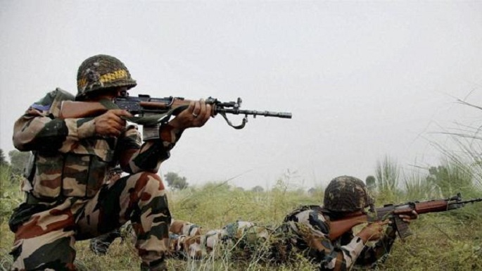 pakistan firing across loc