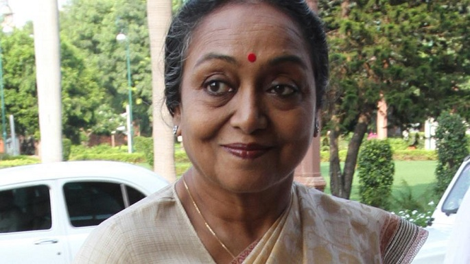 presidential election result meera kumar