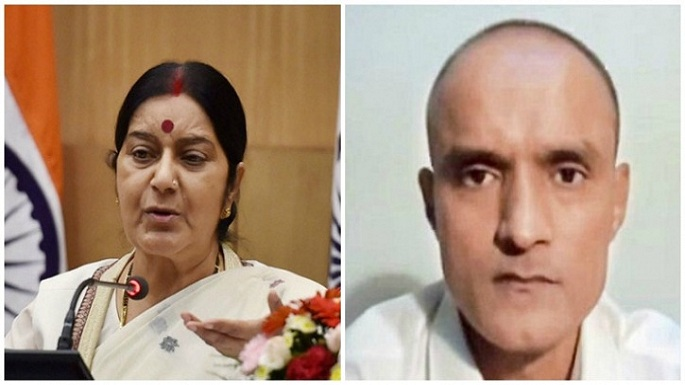 jadhav mother visa matter
