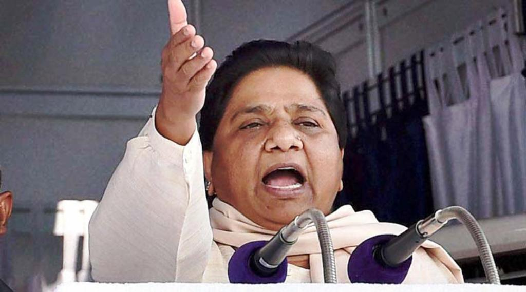 Mayawati threatens to resign from Rajya Sabha.