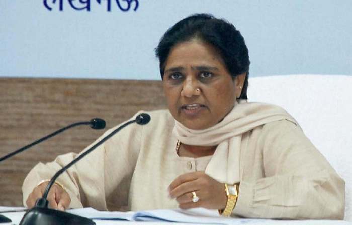 mayawati addressed press conference