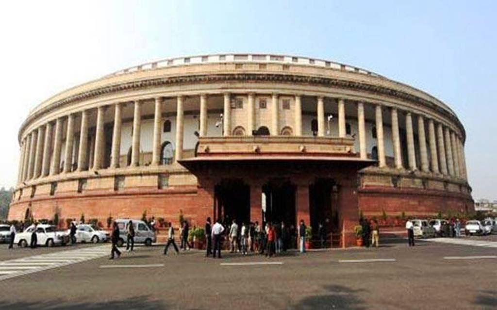 Parliamentary monsoon session adjourned till Wednesday