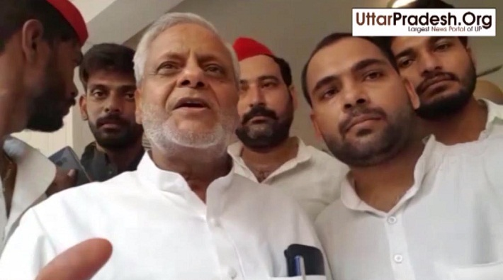 rajendra chaudhary statement after release of akhilesh yadav in unnao