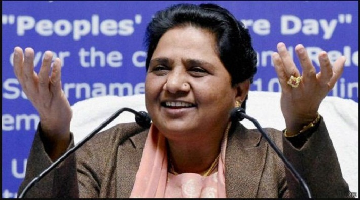 special meeting organized by mayawati in bsp state office lucknow