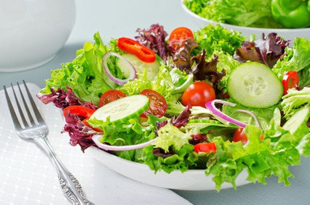 Add rainbow of salad to your meals!